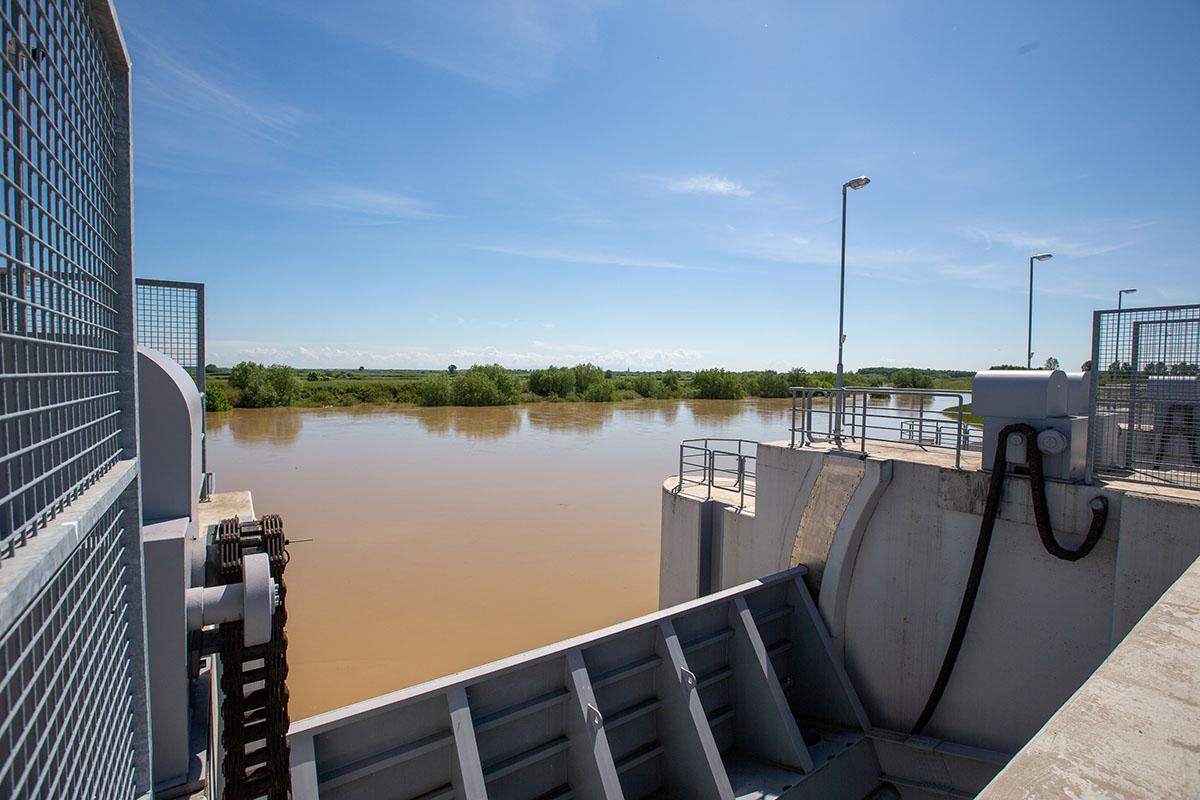 Folytatódott az árhullám levonulása a Körösök vízrendszerében