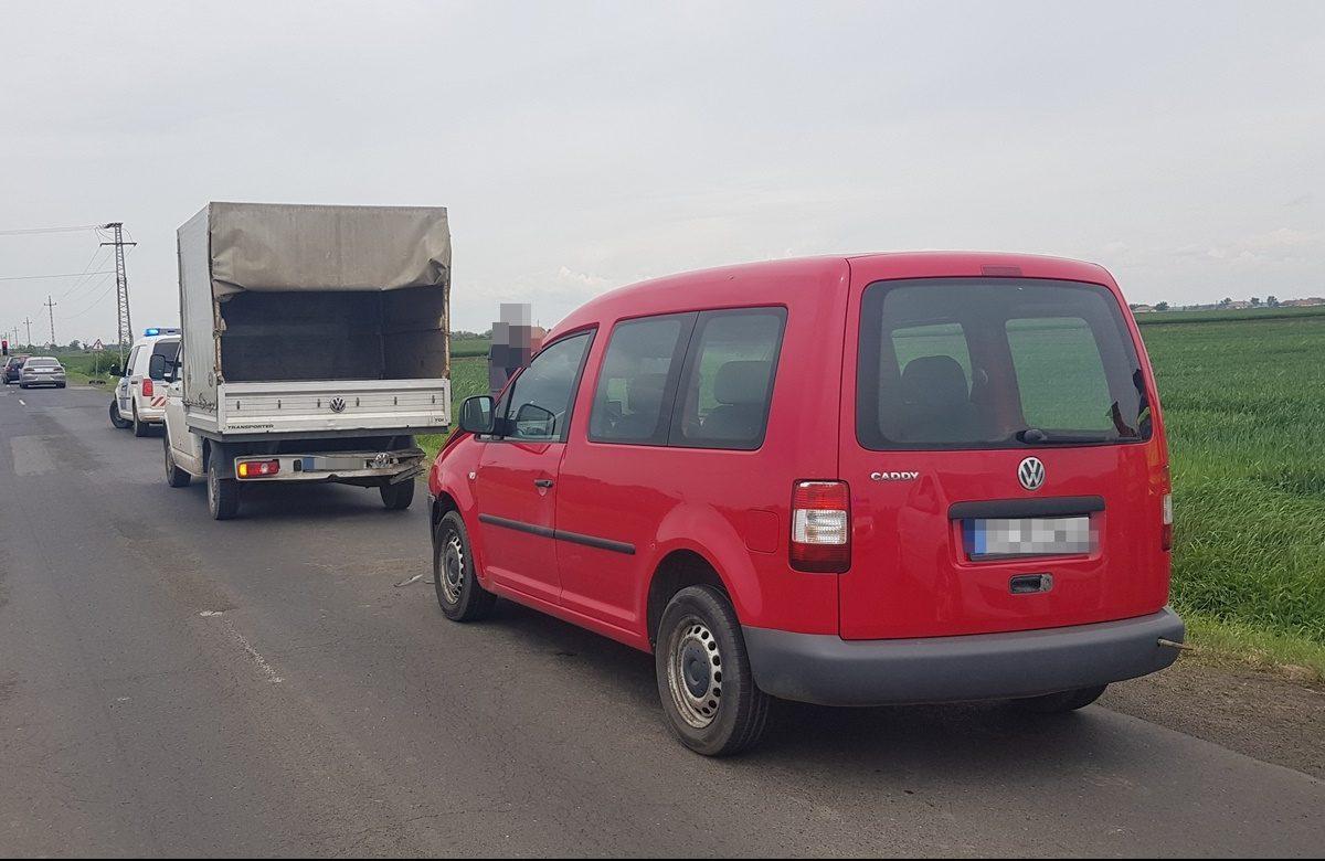 Három közlekedési baleset és két ittas vezetés a megyei utakon