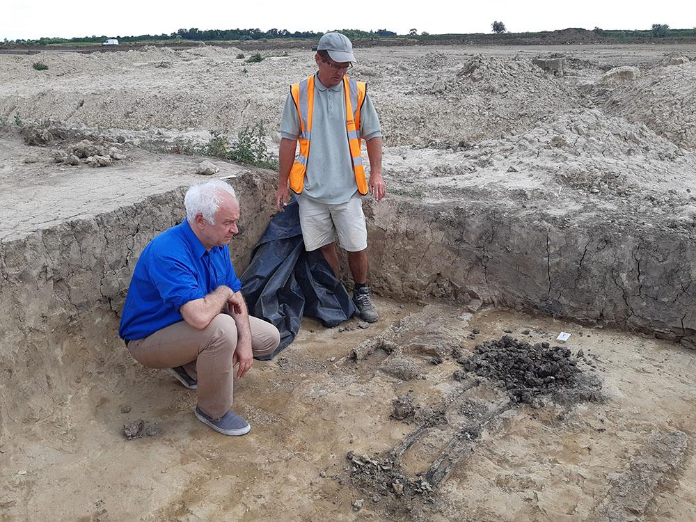 aranytárgy került elő a békéscsabai ásatáson