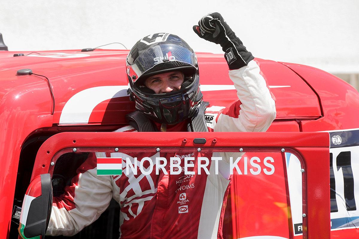 KISS Norbert, Kamion Eb, Hungaroring
