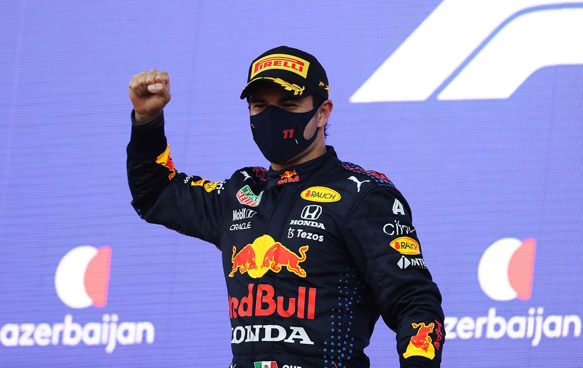 Azeri Nagydíj: Pérez győzött, Verstappen és Hamilton pont nélkül maradt