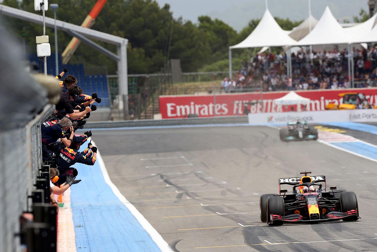 Verstappen nyerte a Forma-1-es Francia Nagydíjat