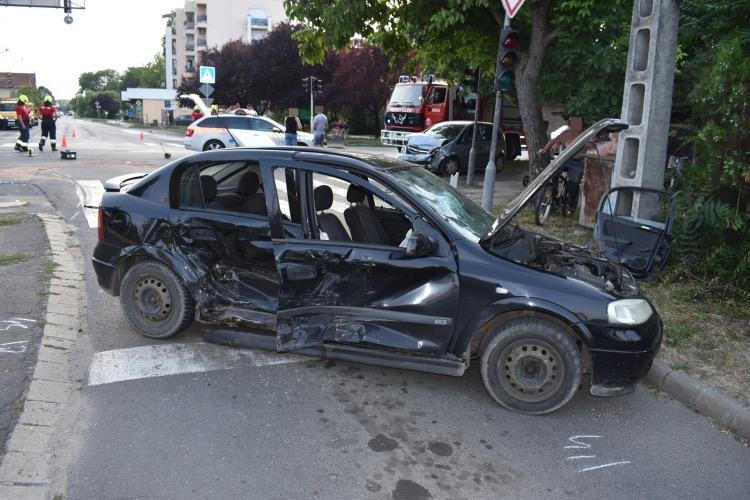 Két balesetben nyolcan sérültek meg a megyében