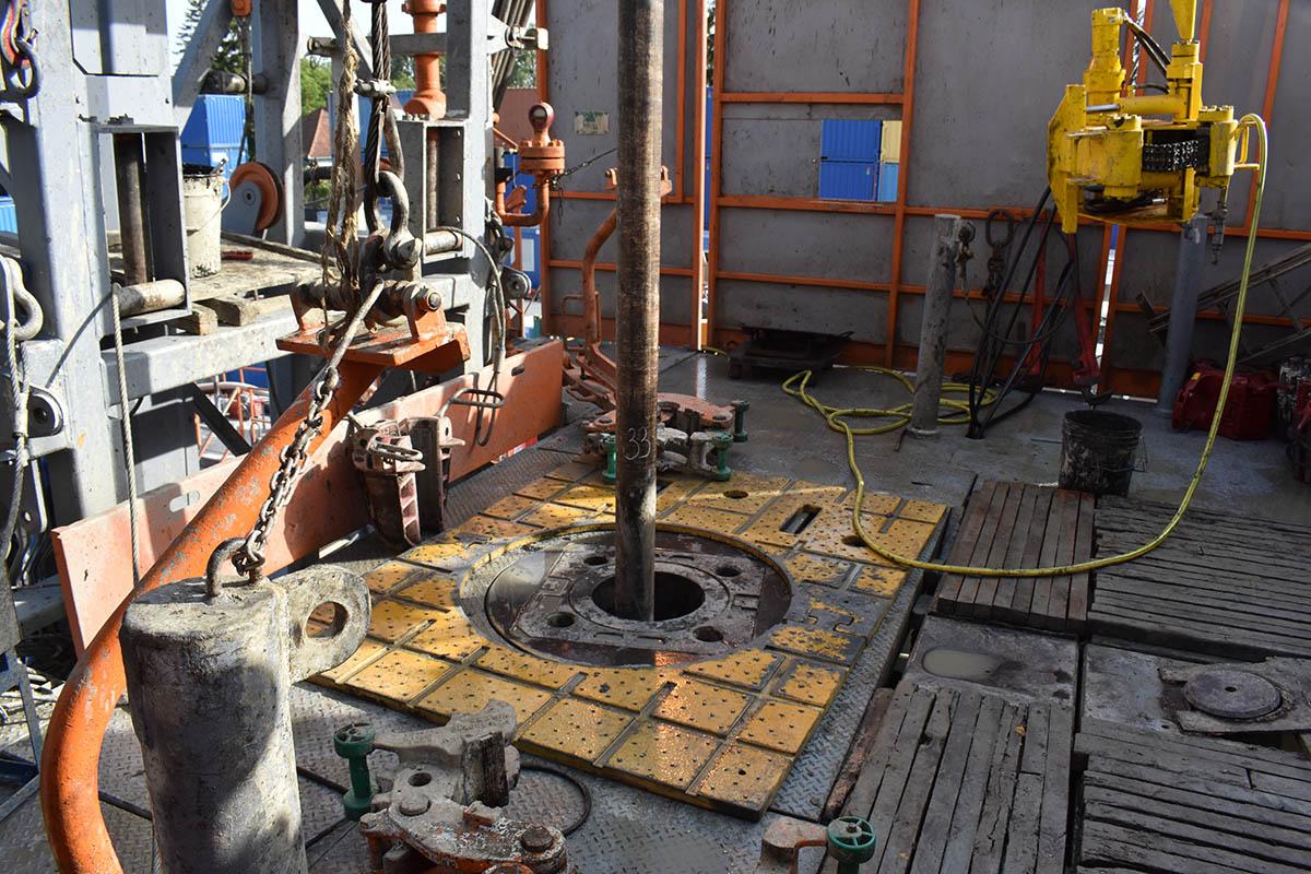 fúrófej, geotermikus kút Békéscsabán