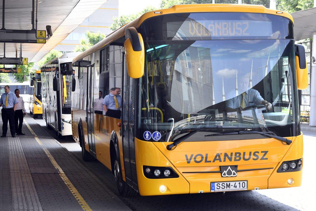 A következő hónapokban 503 új buszt állít forgalomba a Volánbusz