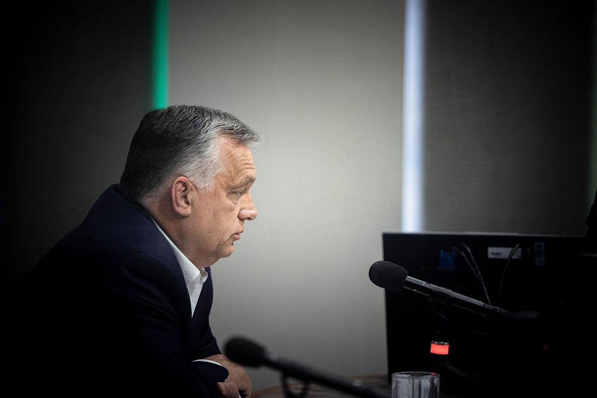 Orbán: pénteken eléri az 5,5 milliót a beoltottak száma