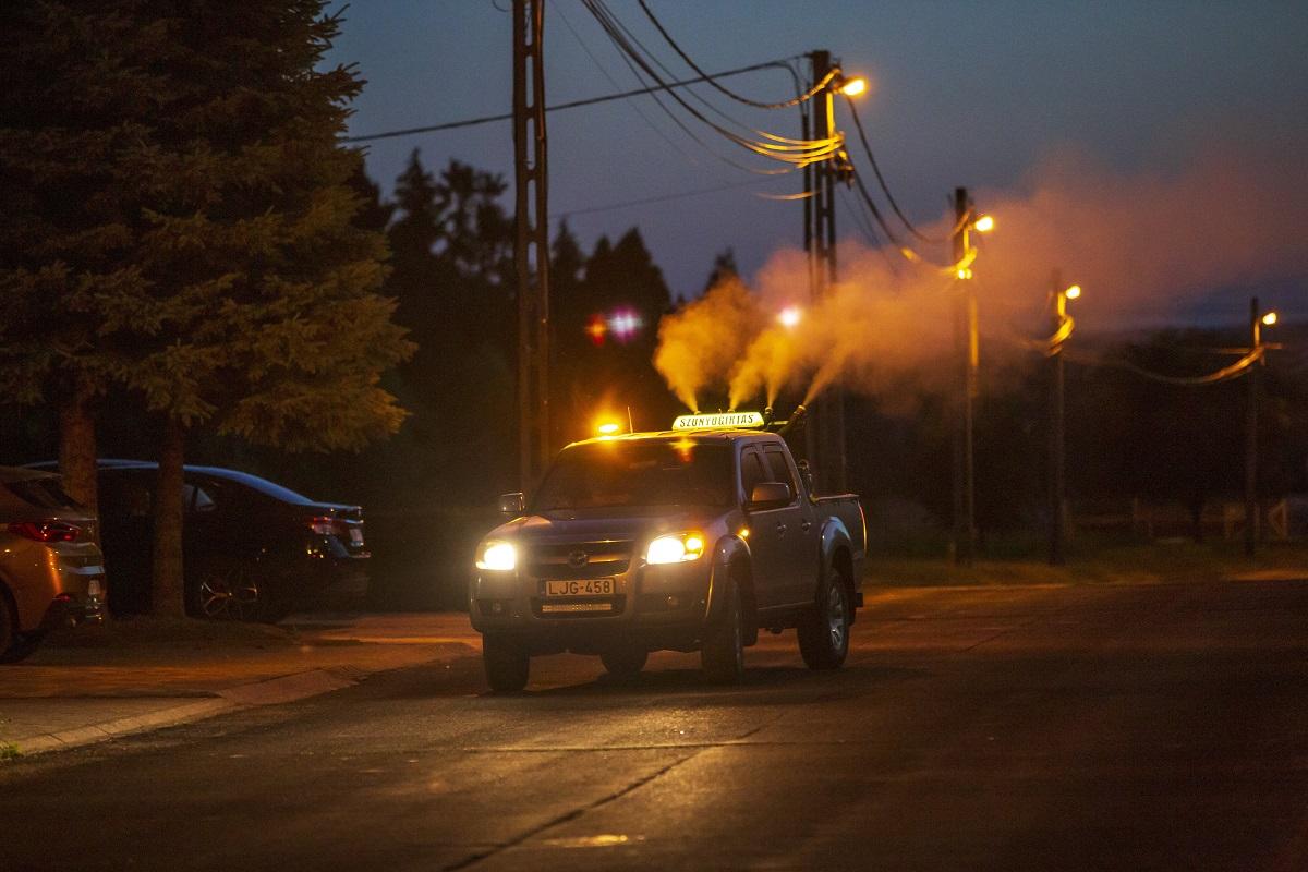 A héten 14 megye 276 településén lesz szúnyogok elleni védekezés