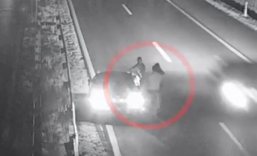 VIDEÓ: döbbenetes, ami a baleset után történt