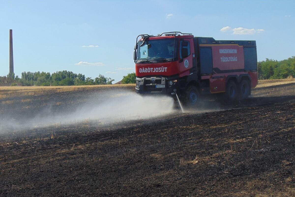 Több a mezőgazdaságot érintő tűz a nagy hőség miatt