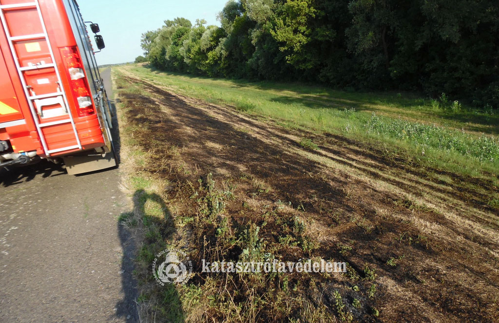 Volt dolga a Békés megyei tűzoltóknak
