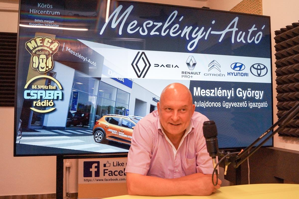 Jótékony célra ajánlja fel az elismeréssel járó pénzösszeget Meszlényi György