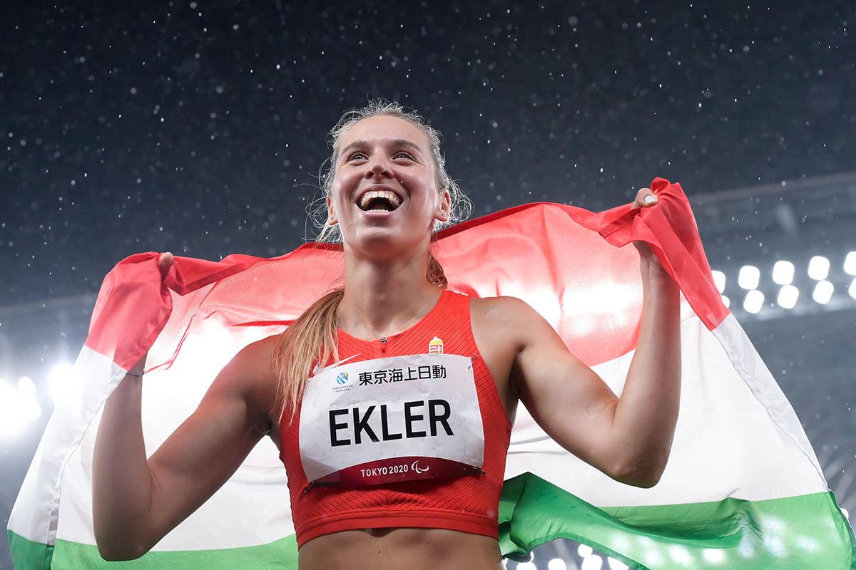 Ekler Luca világcsúccsal aranyérmes távolugrásban