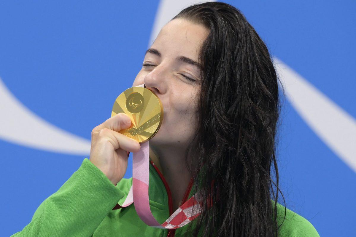 Aranyérmes Illés Fanni 100 méteres mellúszásban