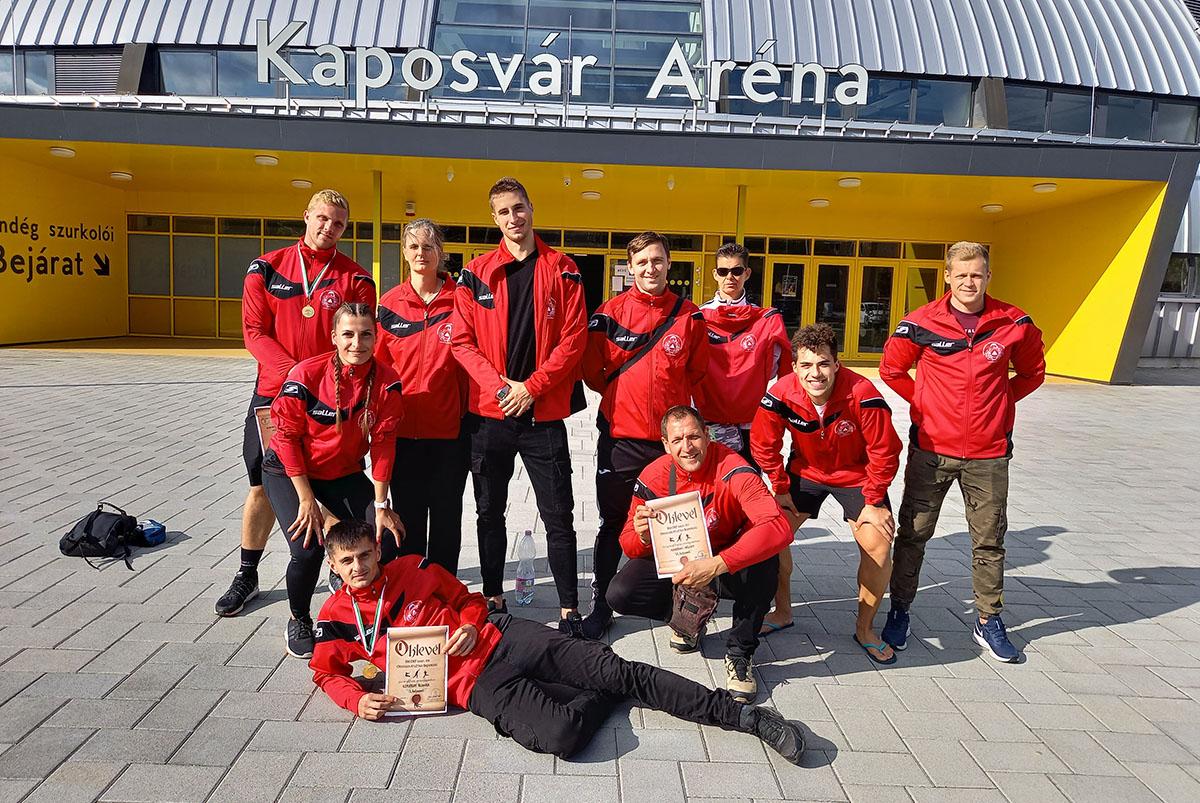 Békés megyei aranyérmek is születtek a BM OKF Országos Atlétika Bajnokságon