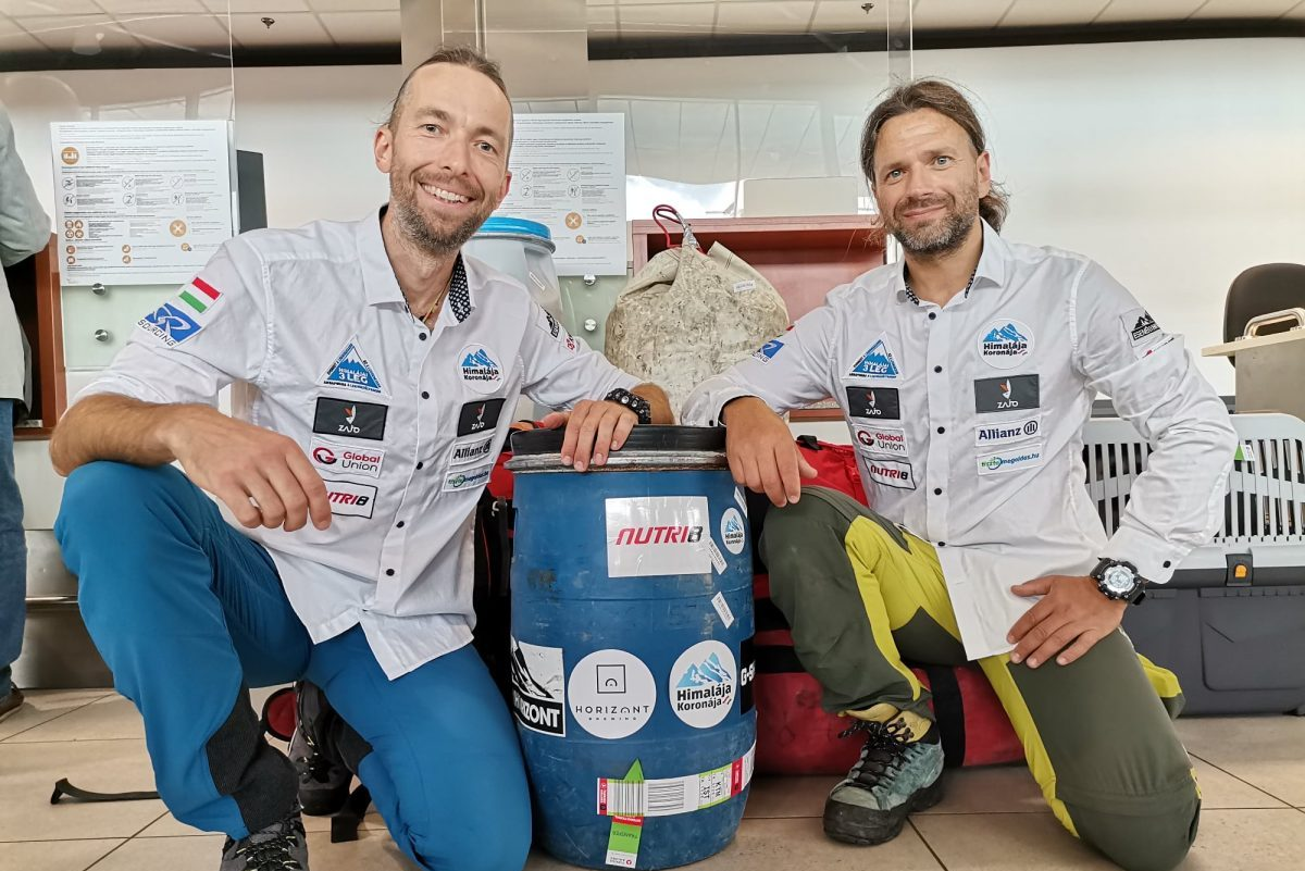 Újabb expedíción Suhajda Szilárd és Klein Dávid