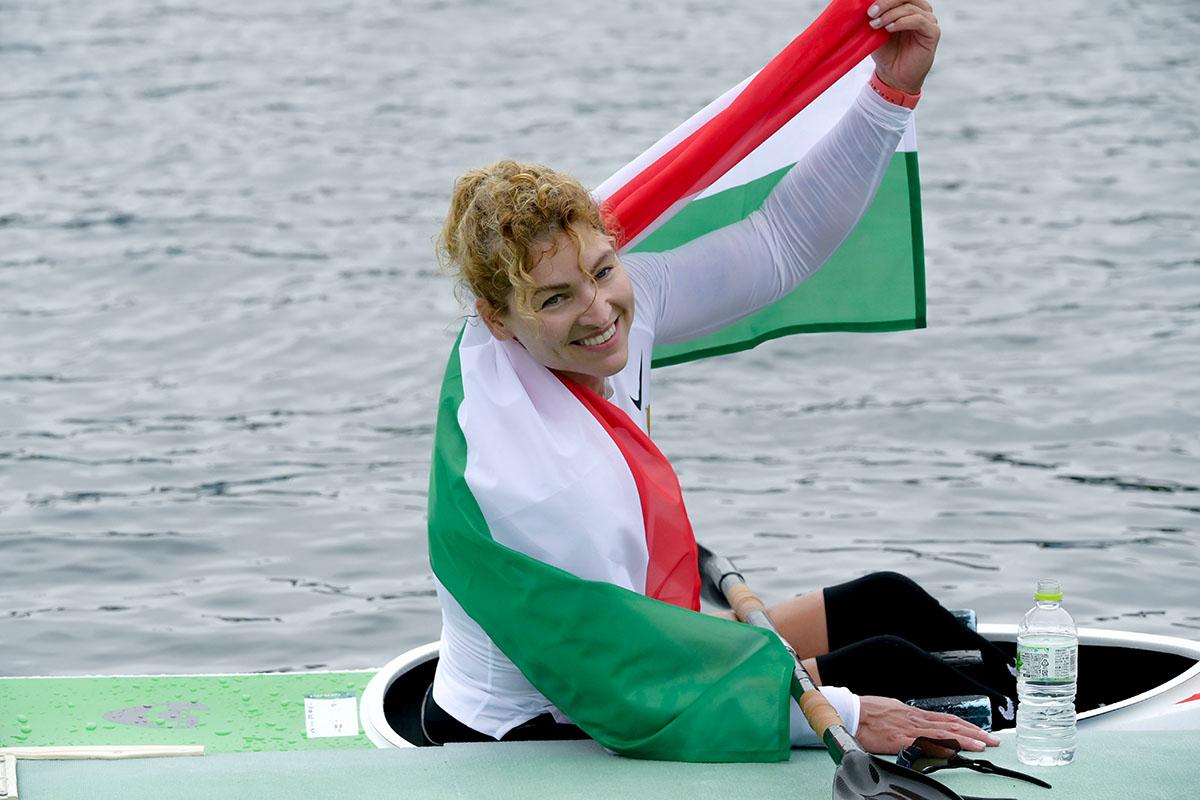 A kajakos Varga Katalin bronzérmet nyert K1 200 méteren a tokiói paralimpián