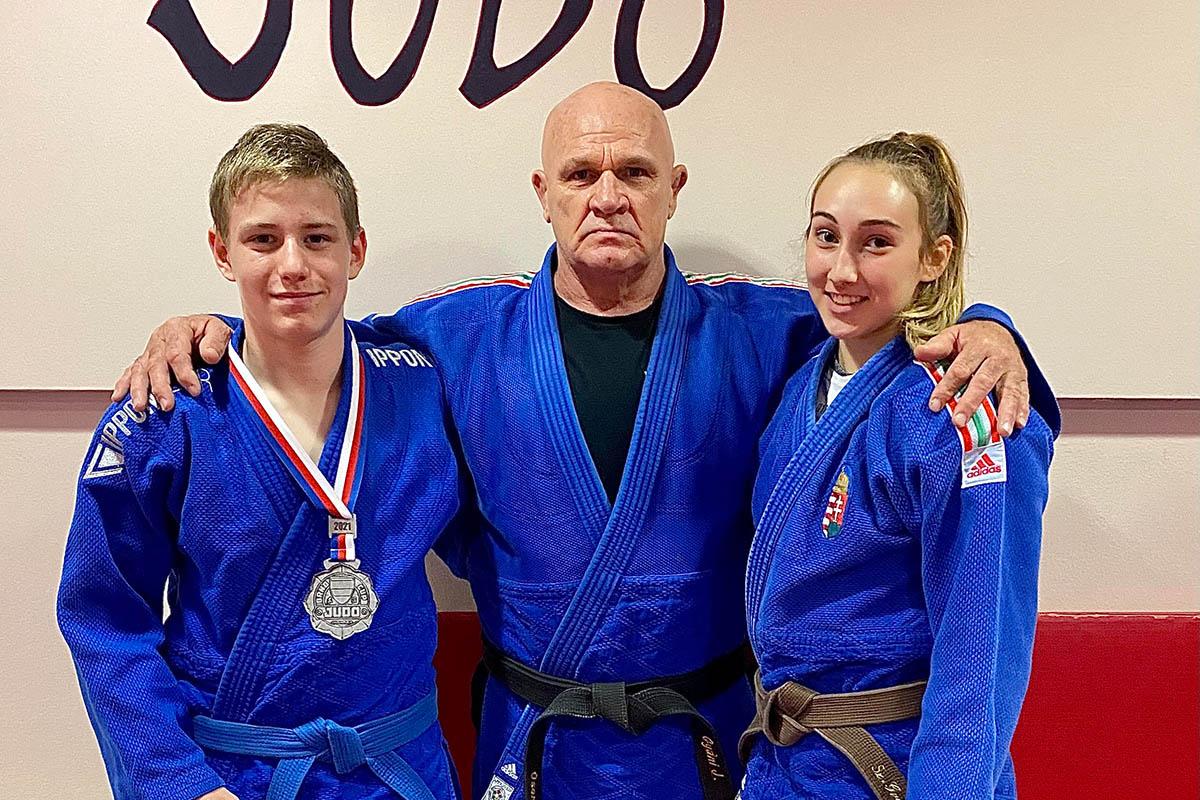 A BM Kano Judo SE versenyzője, Perecz Márk ezüstérmes Brnoban