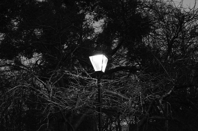 utca, lámpa