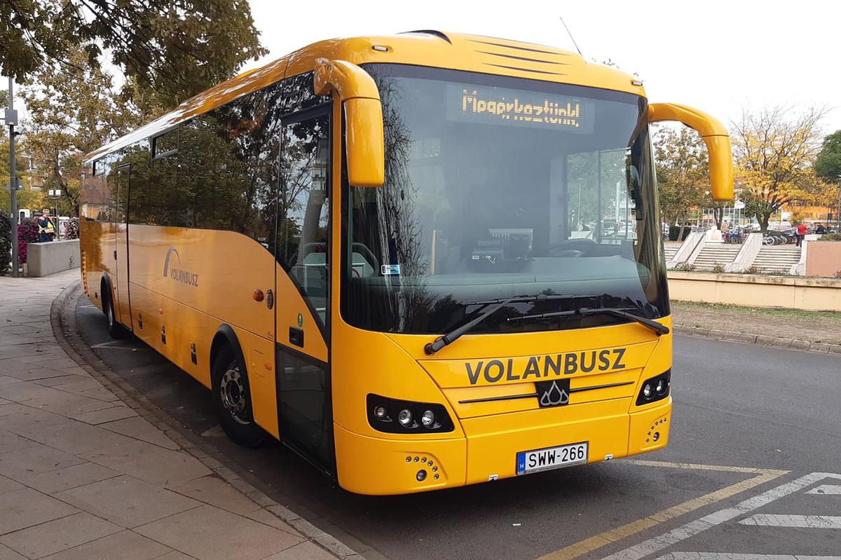 Huszonkét új autóbusz érkezett Békés megyébe