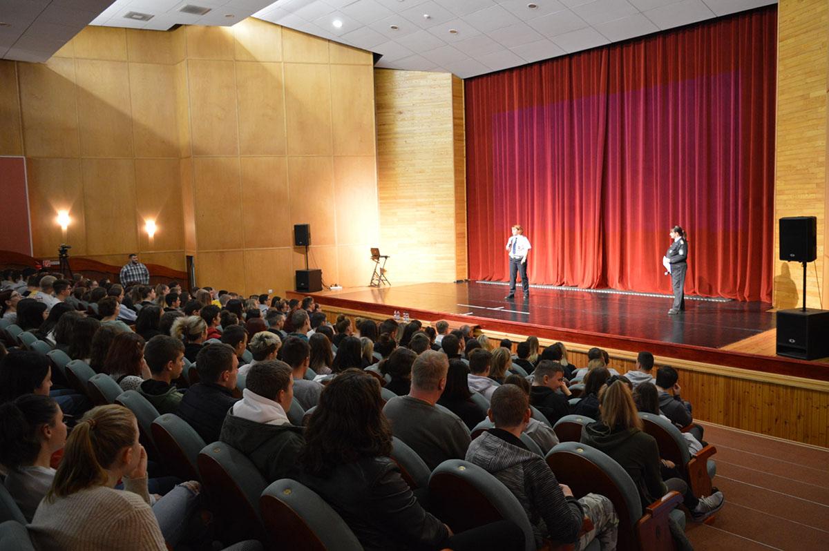 Balesetmegelőzési rendezvényt tartottak Orosházán