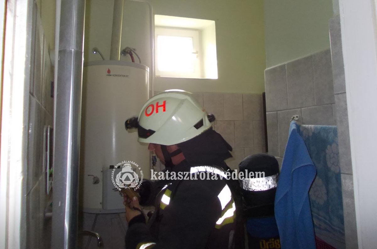Szén-monoxid érzékelő jelzett Orosházán