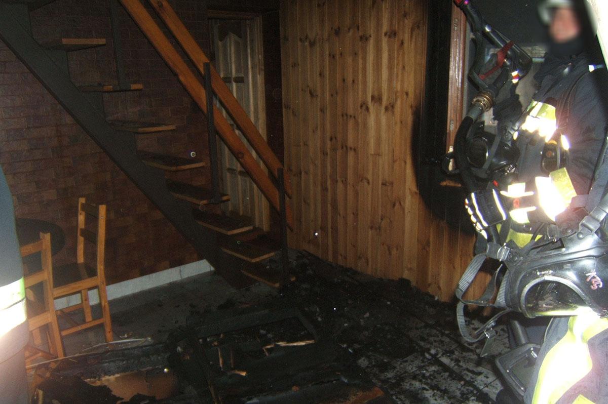 Egy nyaraló konyhájában keletkezett tűz Békésszentandráson