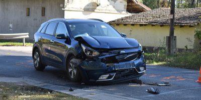dobozi úton kukásautónak ütközött, Békéscsabai baleset