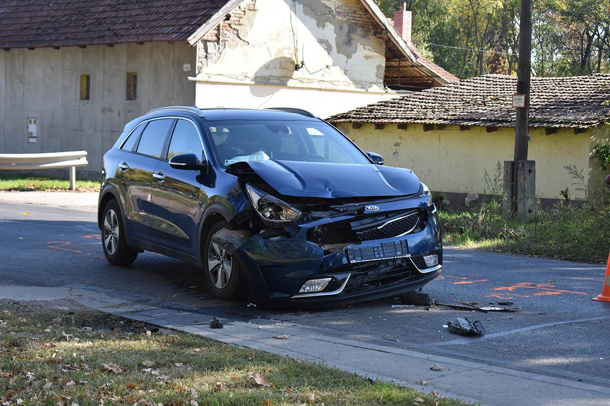 Teherautó és személygépkocsi ütközött össze Békéscsabán