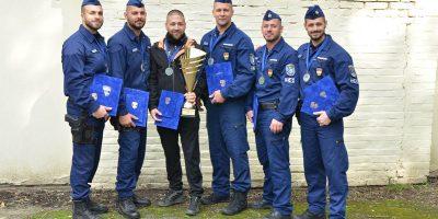 kommandós verseny, Békés megyei siker, rendőrség