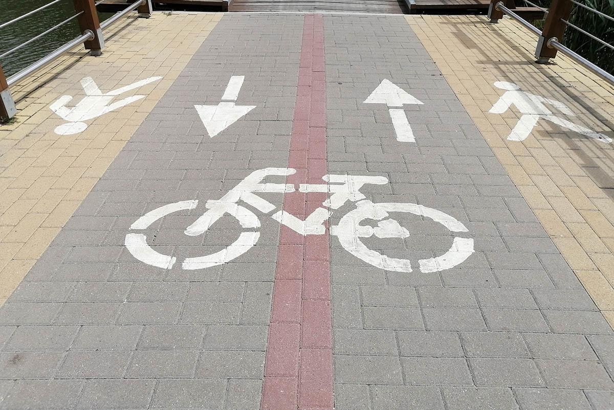 Fontos, hogy a biciklisek is tartsák be a közlekedési szabályokat!