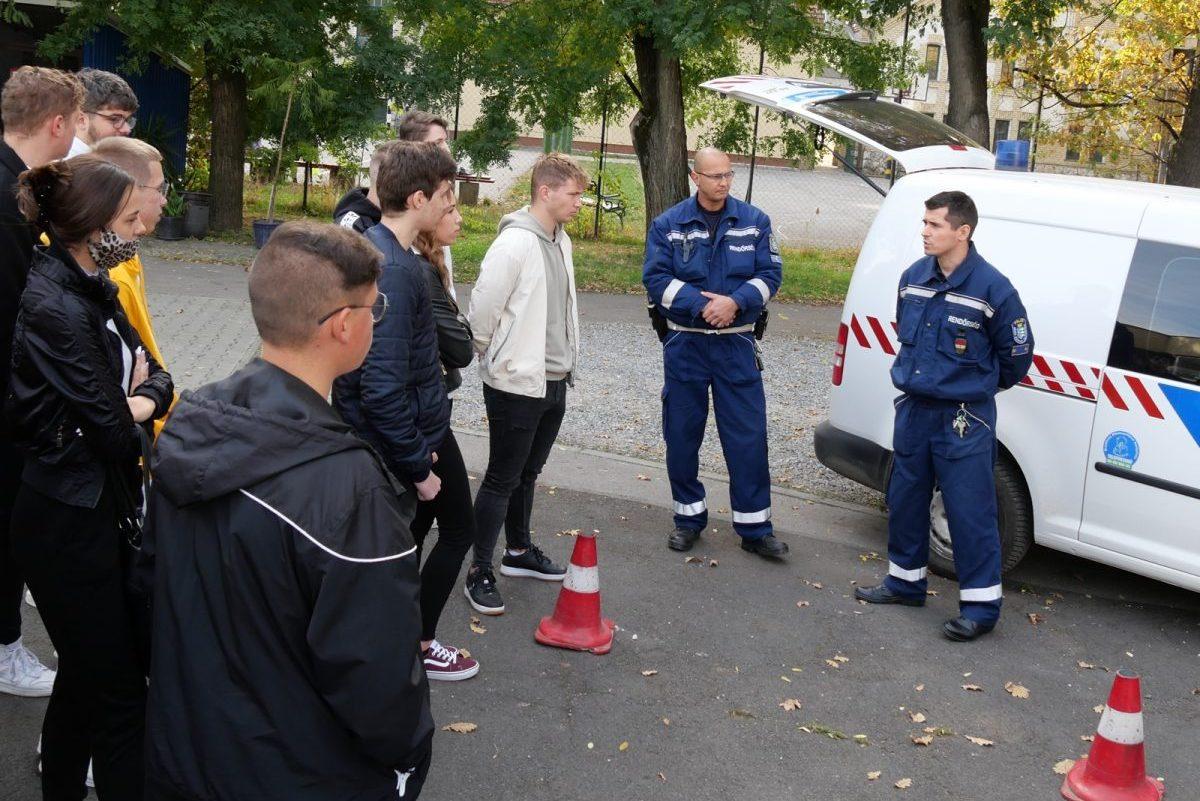 A rendőrség is bemutatkozott a Kemény tagiskola nyílt napján
