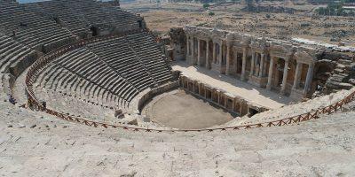 ősi romok, Róma, amfiteátrum