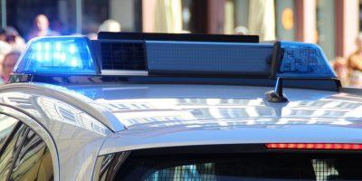 sarkadon, kék, rendőr, rendőrségi, villogó